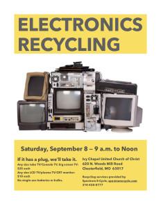 Spectrum ecycling Sep 8